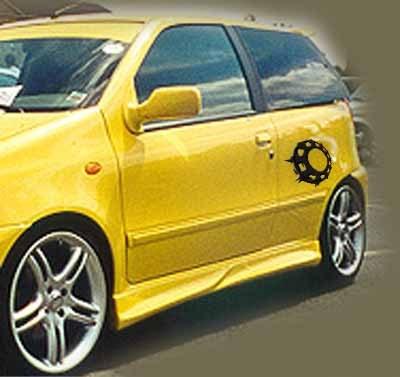 Dokładki Progów Fiat Punto I - GRUBYGARAGE - Sklep Tuningowy